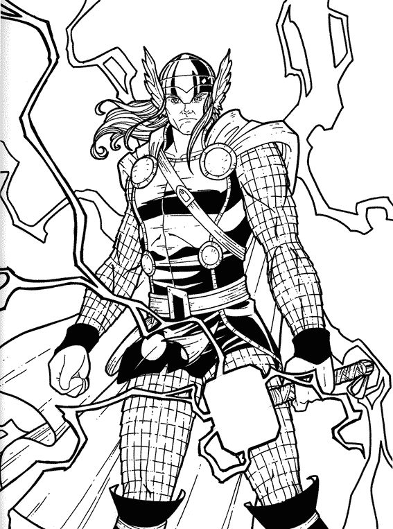 16 best images about marvel coloring pages on