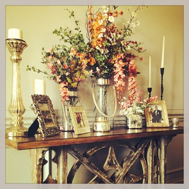 Finishin up the decor in my formal dining room jessie for Dining room arrangement ideas