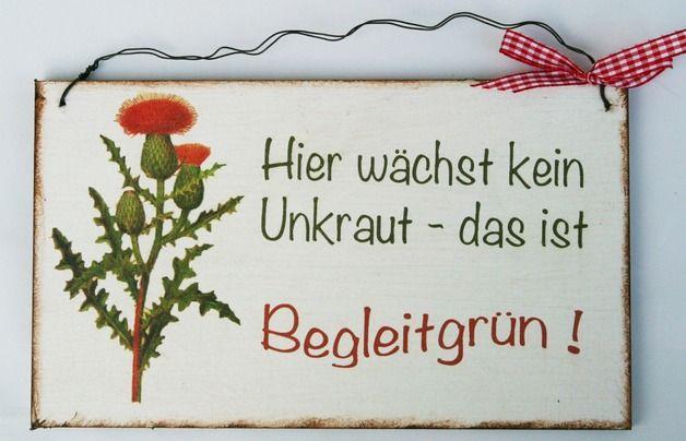 Tür- & Namensschilder - Türschild Humor Geschenk - ein Designerstück von Un-Art-Tick bei DaWanda