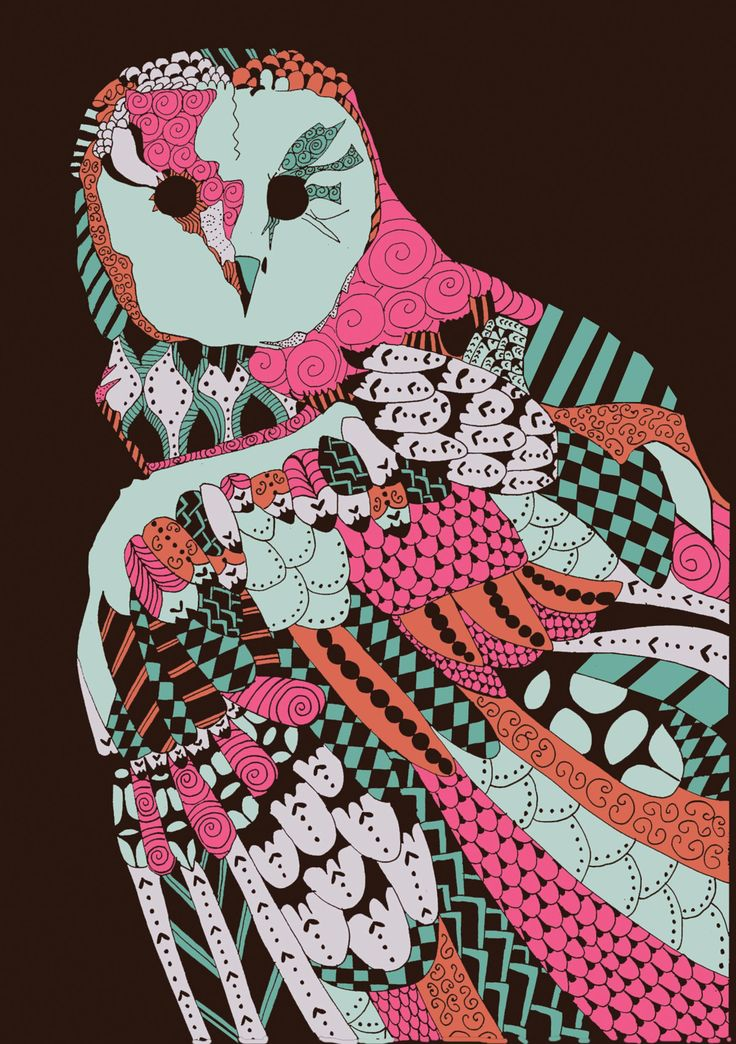 Natalia Segerman original illustrations - Owl Father