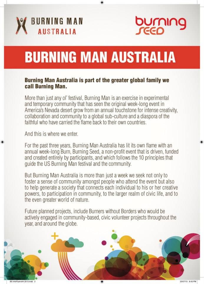 Burning Man Australia