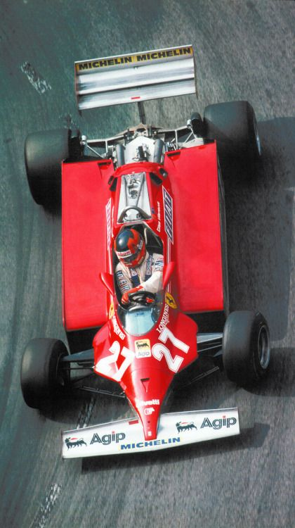 Gilles Villeneuve, Ferrari 126 CK, 1981