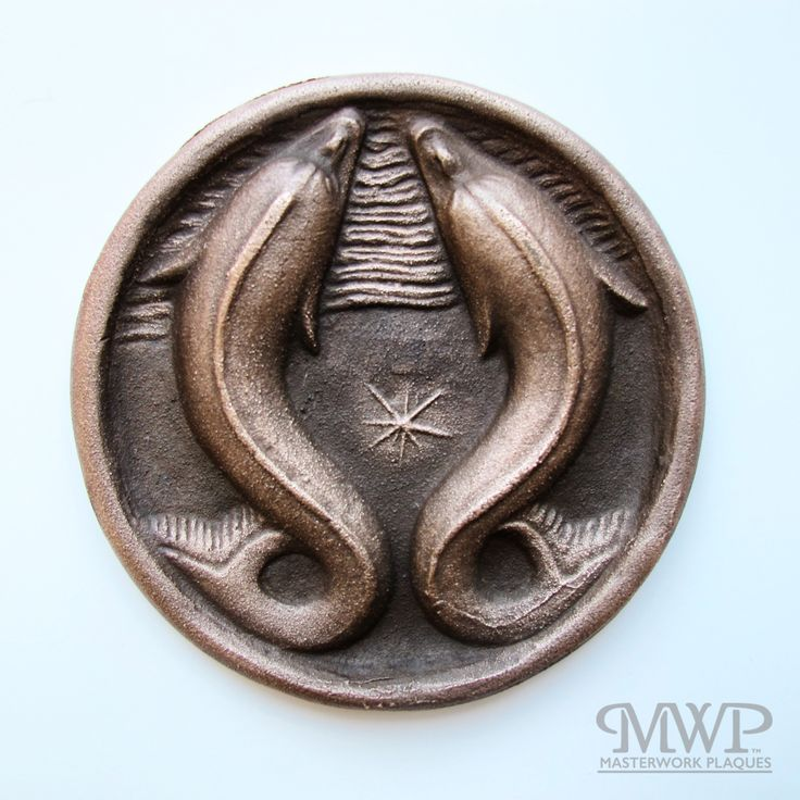 pisces | contact us at masterworkplaques@gmail.com for all purchasing inquiries.