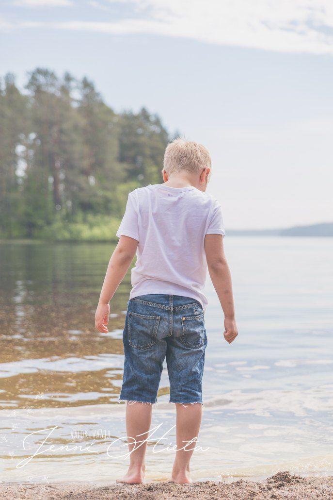 Lapsikuvaus rannalla - Kids photography, beach.