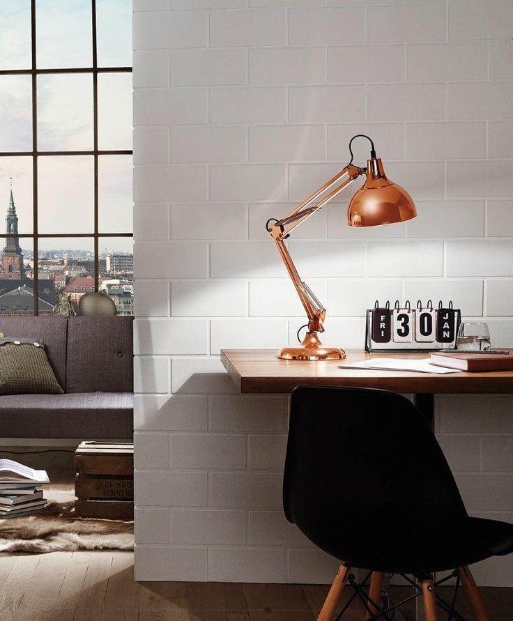 Eglo Lampka biurkowa Borgillio 94704 : Sklep internetowy Elektromag Lighting #copper #lamp