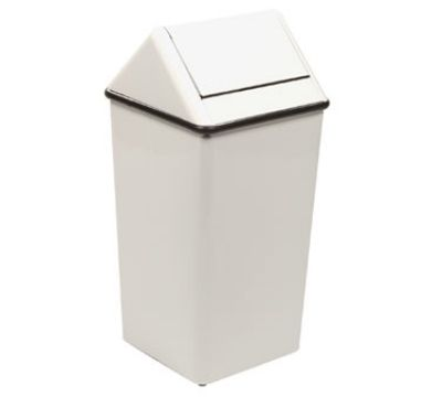 decorative indoor trash cans. Witt 1511HTWH 36 gal Indoor Decorative Trash Can  Metal White 20 best Swing Top Cans images on Pinterest top