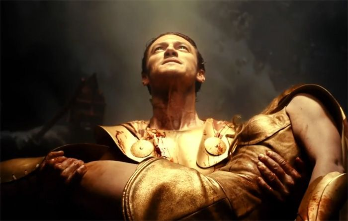 luke evans as zeus in immortals | Ambrosia | Pinterest ...