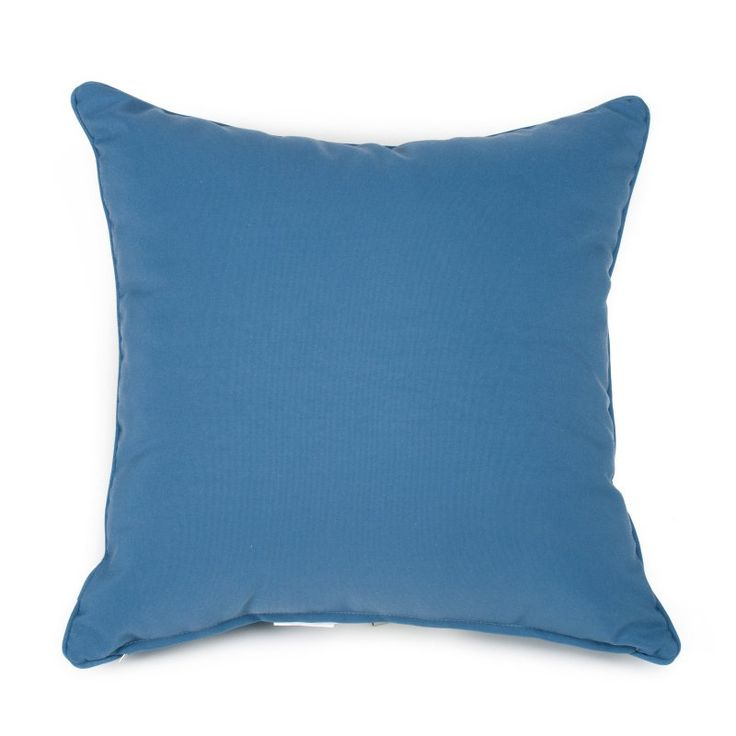 Set of 2 Coral Coast Classic 20 x 20 in. Outdoor Toss Pillows - Harbor - M015-1-AFS048-HARBOR