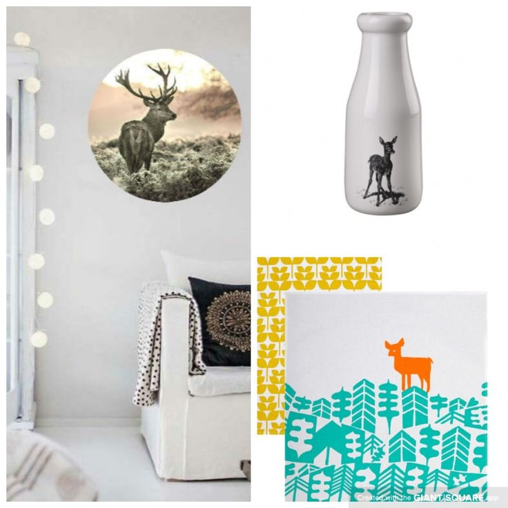 Oh deer! Decor ideas from mengsel, lovebombdesigns & robertgordonaustralia