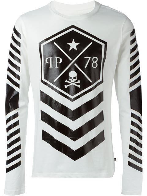 Philipp Plein 'Lines' T-shirt - that should be mine!