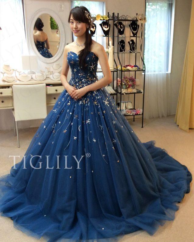 いいね!120件、コメント3件 ― Tiglilyさん(@tiglily_japan)のInstagramアカウント: 「新作ドレス #ネイビードレス シリウス(c191)をご試着頂きました。 とってもお綺麗です! . . ご来店ありがとうございました。 末永くお幸せに♡ . . . #花ドレス #フラワードレス…」