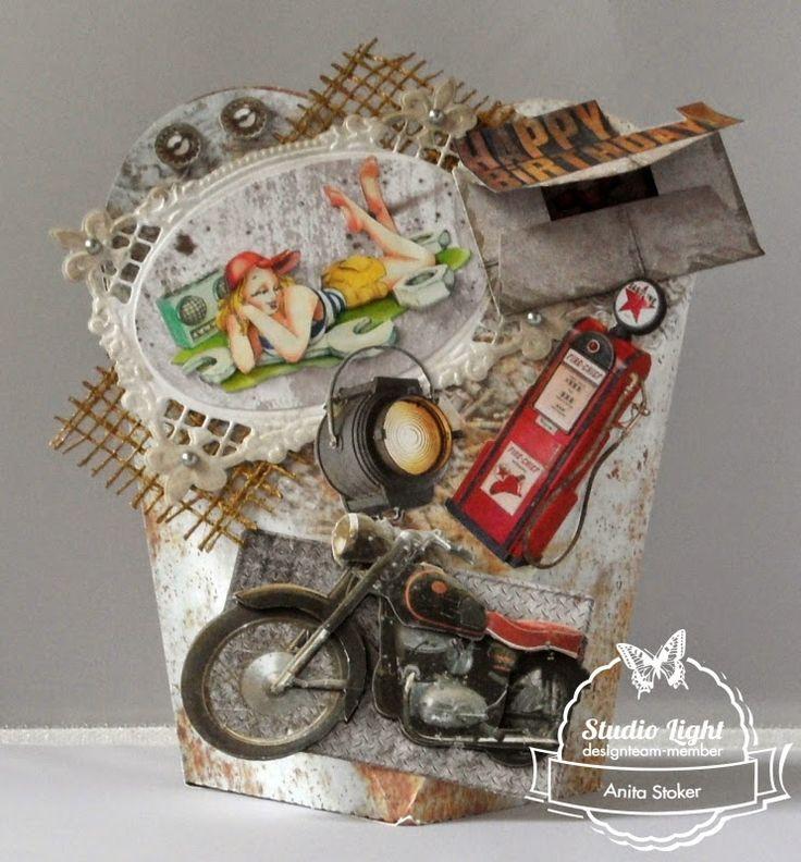 Jongens kaarten en Verjaardagsdoosjes........gemaakt door Anita Stoker.