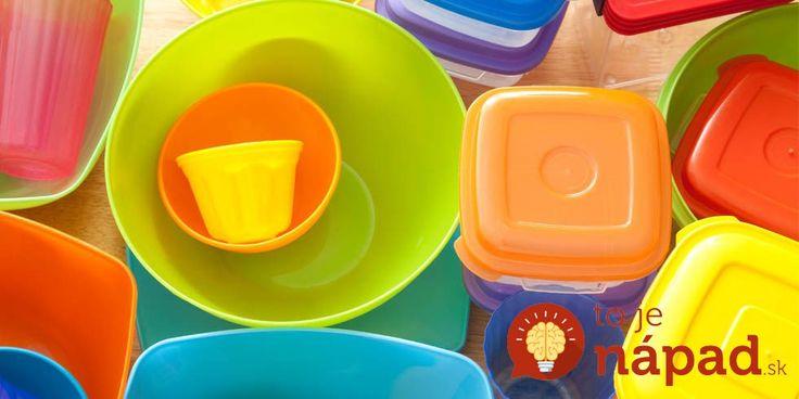 Ako zbaviť plastové dózy nepríjemného zápachu a odolných škvŕn?