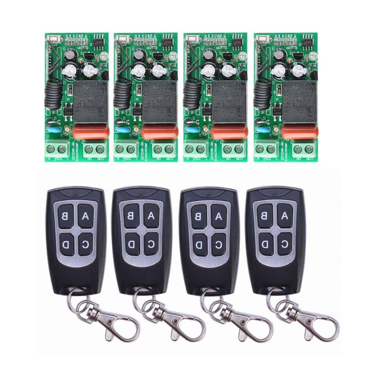 "27.29$ Buy here - - ""<b>AC 220</b> V <b>1CH 10A</b> Relay RF Wireless Remote ..."