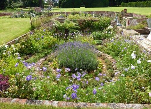 sunken gardens garden circle - Garden Design Circles