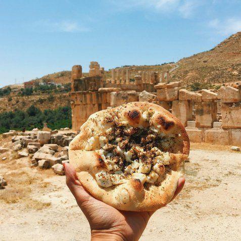 Αραβική πίτσα, Ιορδανία