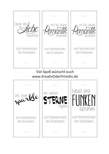 www.KreativOderPrimitiv.de basteln DIY Hochzeit Vintage Rustikal Wunderkerzen Hochzeitstanz Tanz free printable kostenlos selber machen download idee – Steffi von KreativOderPrimitiv