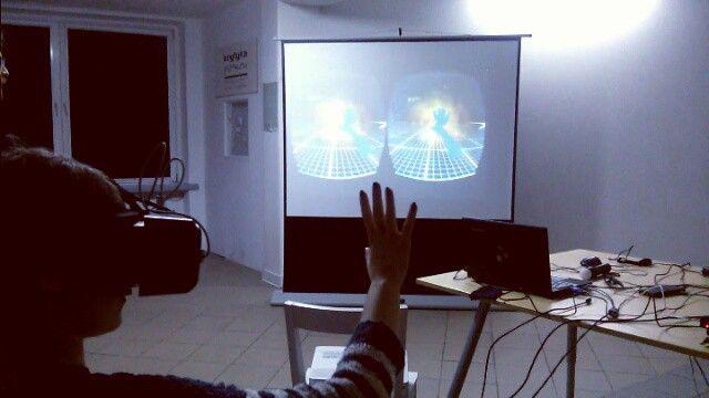 #vrez #virtualreality #oculus #leapmotion #game #mindhelix #nagranicy
