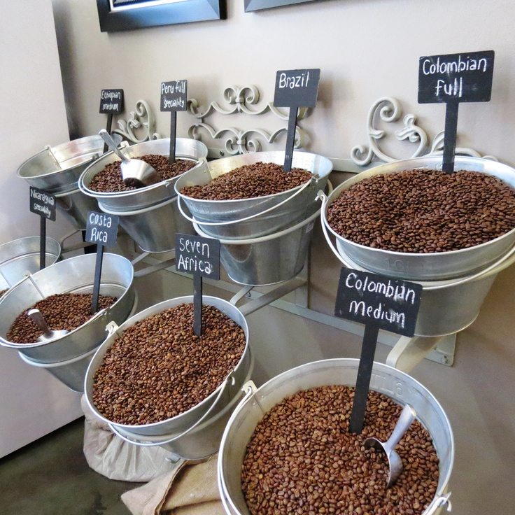 Our wonderful selection of beans