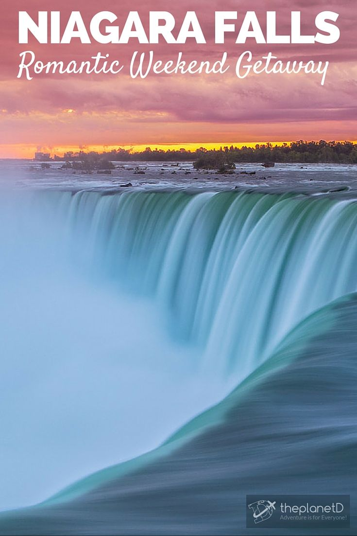 "Honeymoon Capital of the World: Niagara Falls is the ""go to"" spot for romantic weekend getaways in Ontario 