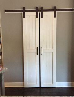 Sliding Barn Door Style Pantry Doors Door Only by RussBuilders