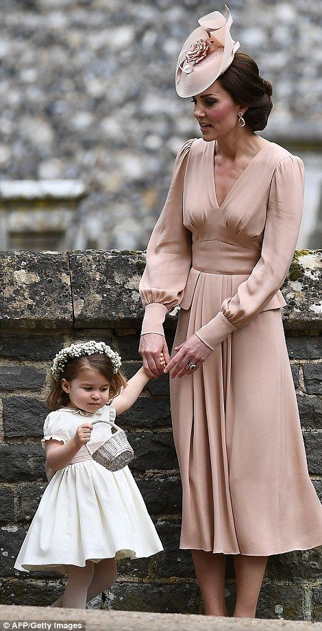"""Dress your little bridesmaid like Princess Charlotte in Pepa&Co  Click """"Visit"""" to buy #DailyMail"""