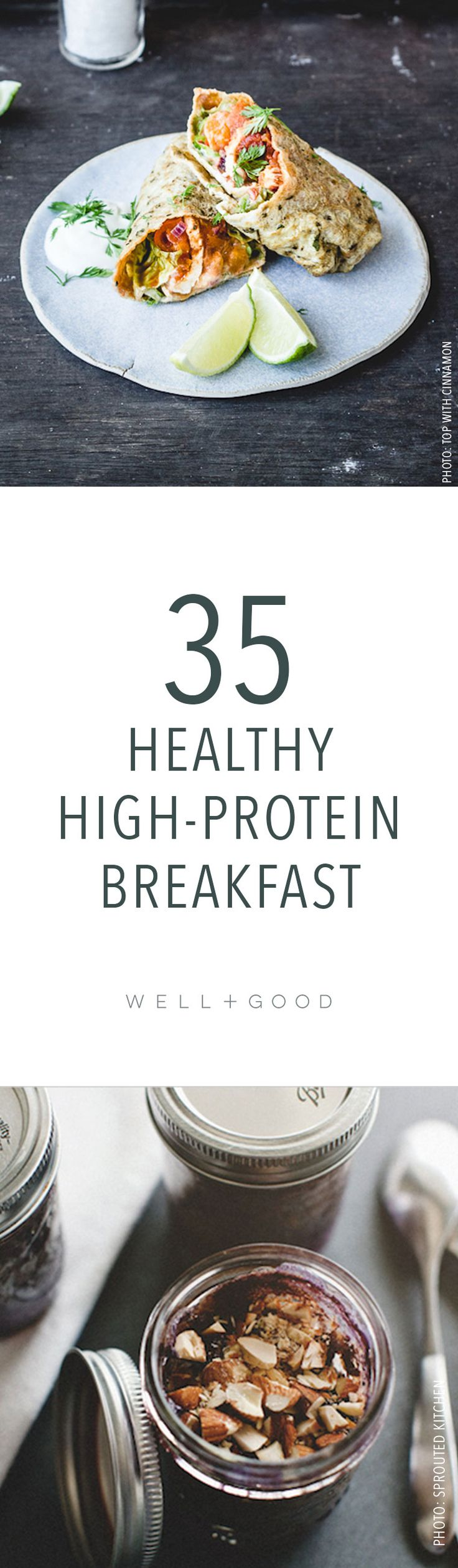 Healthy high-protein breakfast options to make