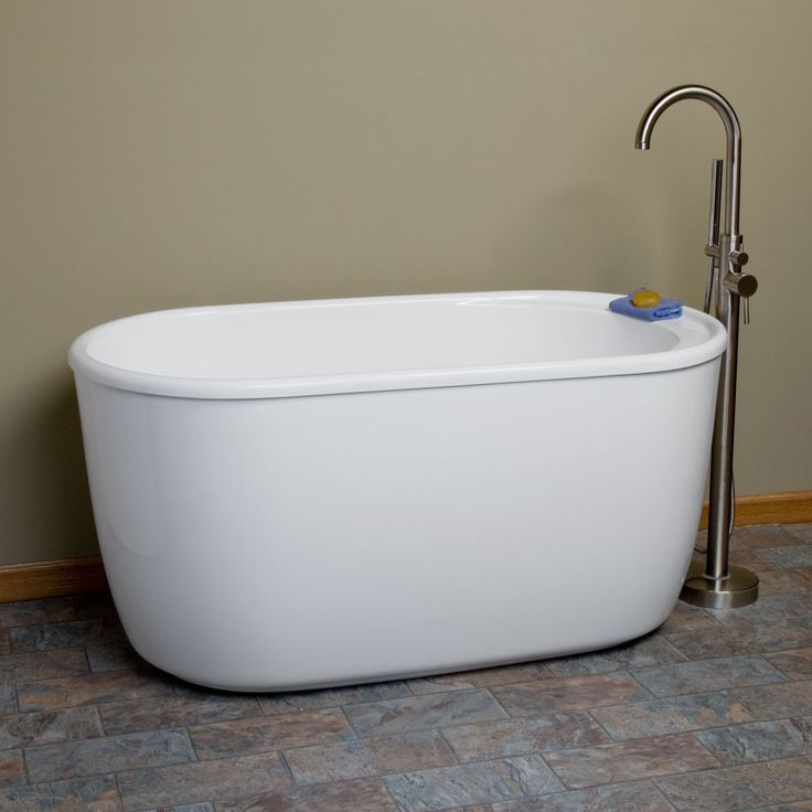 55  Vada Acrylic Soaking Tub29 best Bathtubs images on Pinterest   Bathroom ideas  Bathtubs  . Small Freestanding Soaking Tub. Home Design Ideas