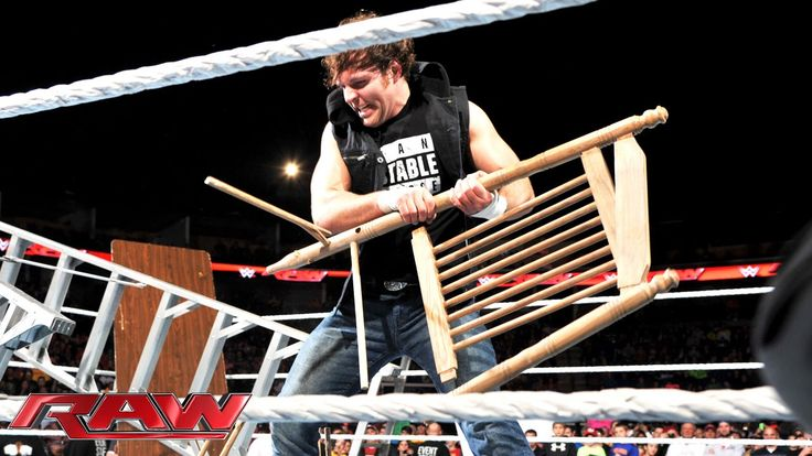 Dean Ambrose sends a message to Bray Wyatt: Raw, December 1, 2014