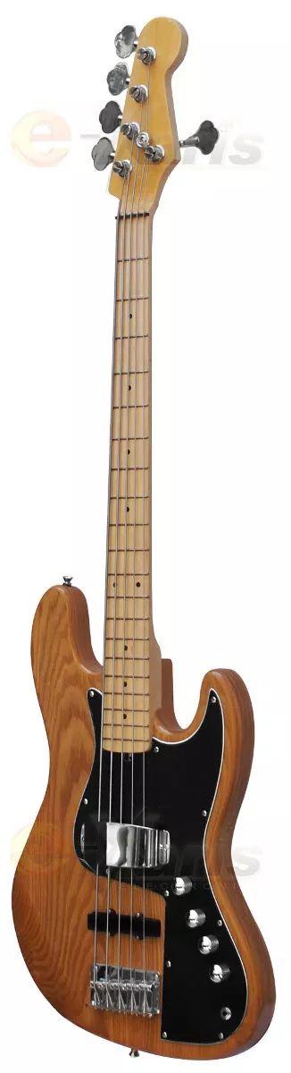 #bajo #electrico profesional  diseño madera natural 5 cuerdas. #rocker #mercadolibre