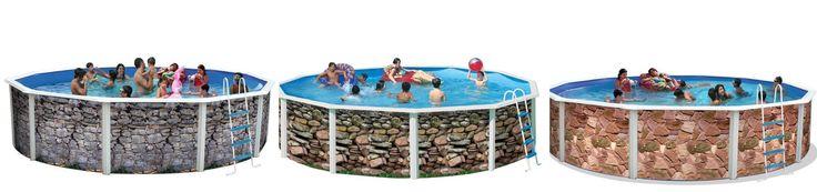 Hola amigos y feliz semana para todos. Si queréis disfrutar de un verano maravilloso y no tenéis piscina en casa, aún estáis a tiempo. Consigue tu piscina desmontable de acero, lacada en blanco o decorada de 120cm de alto o 132 cm (medida no válida para decoradas Toi) a precios muy económicos.