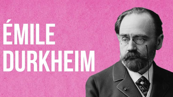 SOCIOLOGY - Émile Durkheim  well, it's an interesting introduction! #education…