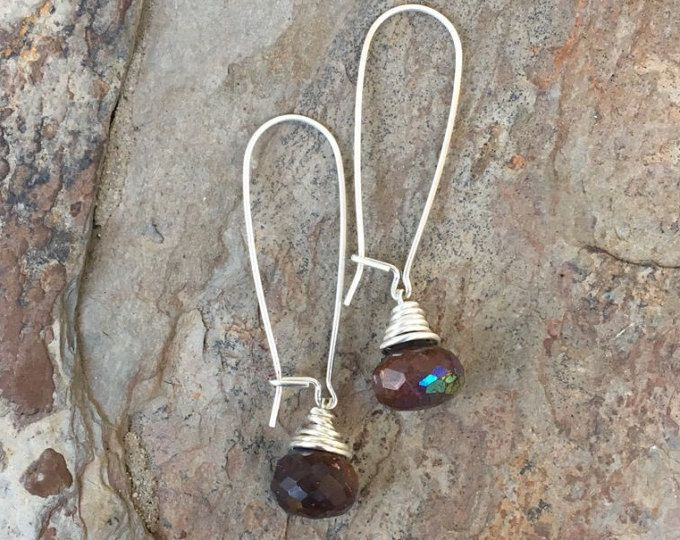 Simple Bead Earrings for Pierced Ears. ES13