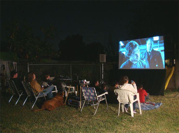 Movie Night Rentals | Outdoor Movie Projector Screen Equipment Los Angeles