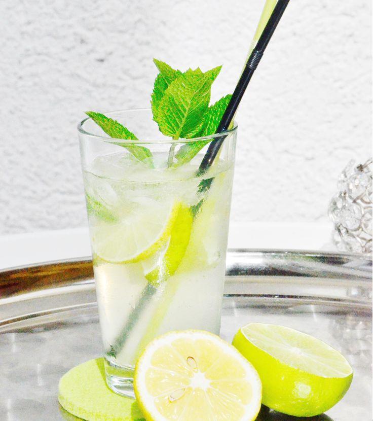 LADYS, IT'S COCKTAIL TIME   Erfrischender alkoholfreier Caipi mit Minze