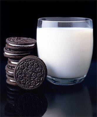 Oreos and milk...a staple