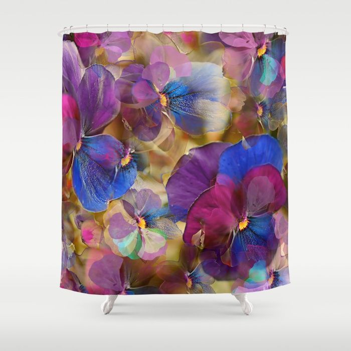 Buy Floral abstract (74) Shower Curtain by maryberg. Worldwide shipping available at Society6.com. Just one of millions of high quality products available.