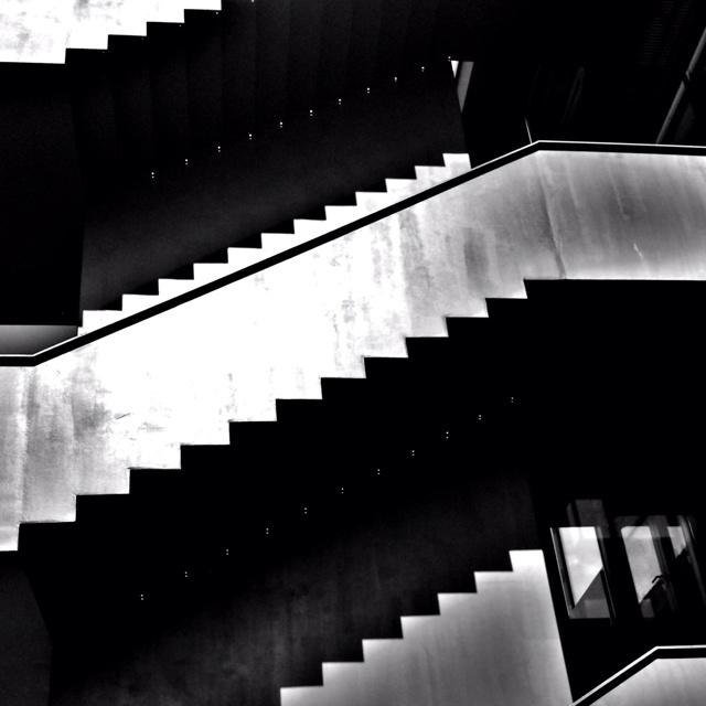 Schatten der Treppen