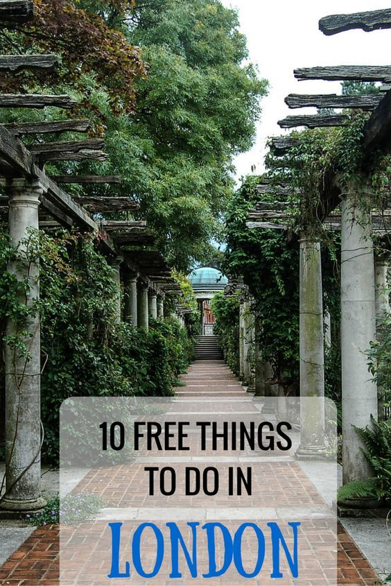 10 actually FREE things to do in london!