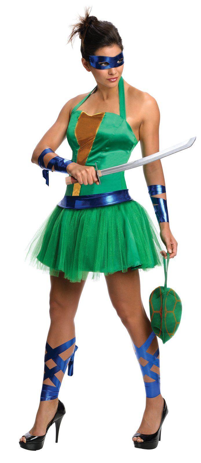 Teenage Mutant Ninja Turtles Leonardo Adult Dress from CostumeExpress.com