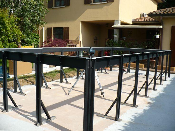 Aufstellpool mit Außenverkleidung auch für Hanglagen geeignet | Da-Jardinero - Pools, Whirlpools, Aufstellpools und Schwimmbecken