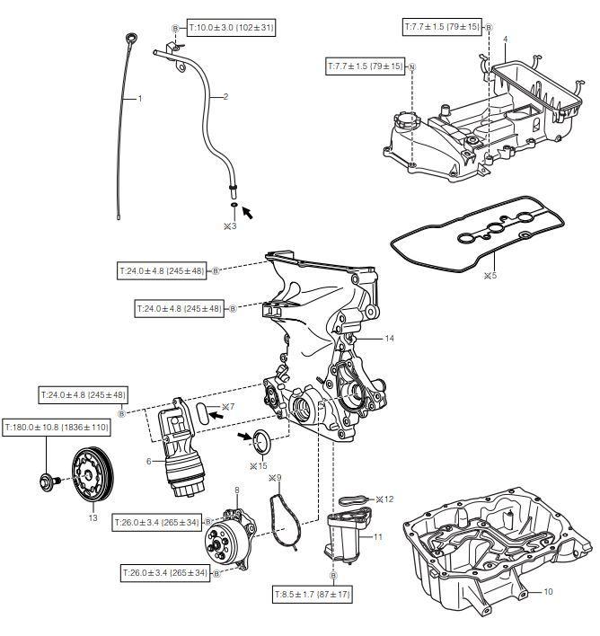 DAIHATSU SIRION service procedure for Type 1KR-FE engine