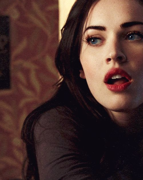 Megan Fox. I like her more when she doesn't display too much sensuality. She's sensual anyway..