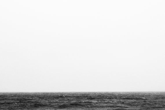 Fog over Choppy Superior  Fine Art Nature by AshWPhotography