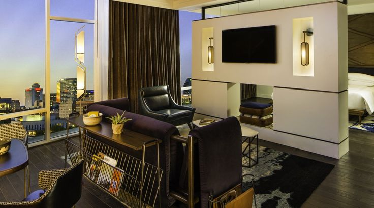 Lighting By Hb Thompson Nashville Boutique Hotels In The Gulch Guest Rooms Pinterest