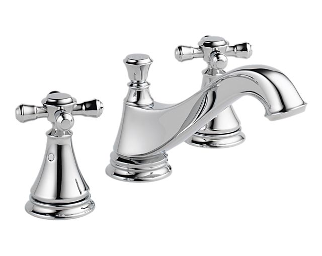 3595LF-MPU-LHP H295                                        Cassidy   Two Handle Widespread Lavatory Faucet with Metal Pop-Up - Less Handles