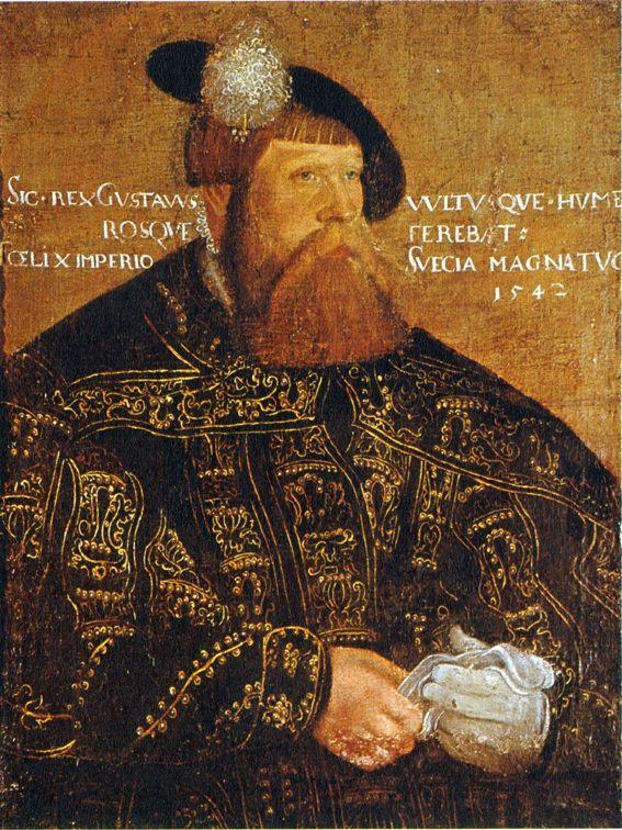 Gustaf I of Sweden by Jakob Binck