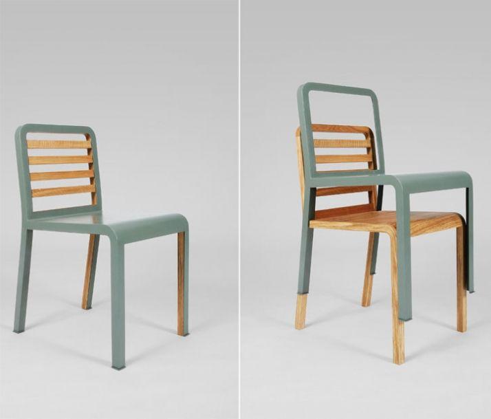 creative furniture ideas. twin chair by philippe nigro for via creative furniture ideas o