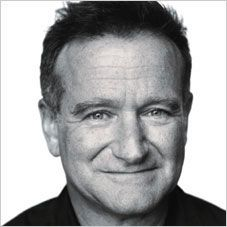 Robin Williams, INFP.  I've seen him typed as an ENFP; but, surprisingly enough, he's an Introvert.
