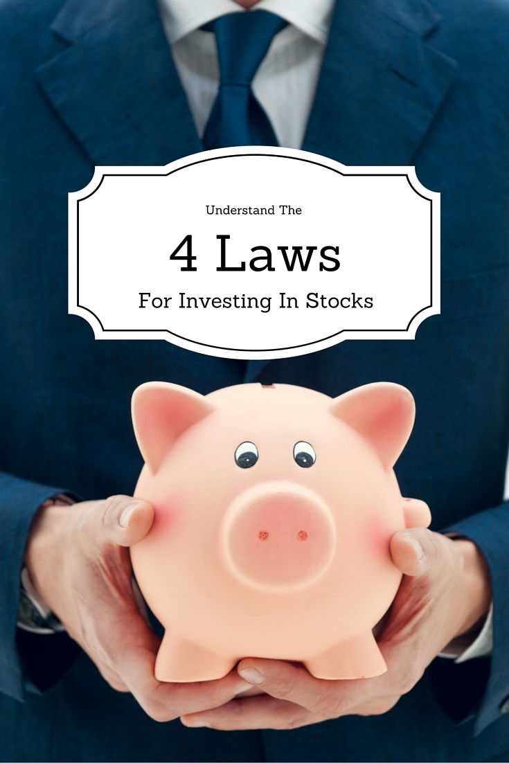 These are the four laws for investing in the stock market - the only certainty you will get when you put your money on the table.